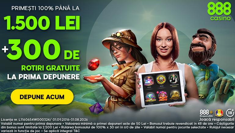 888 Casino te Încântă cu o Promoție Exclusivă de Bun Venit