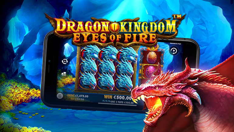 Aventura Pragmatic Play Continuă cu Slotul Dragon Kingdom Eyes of Fire