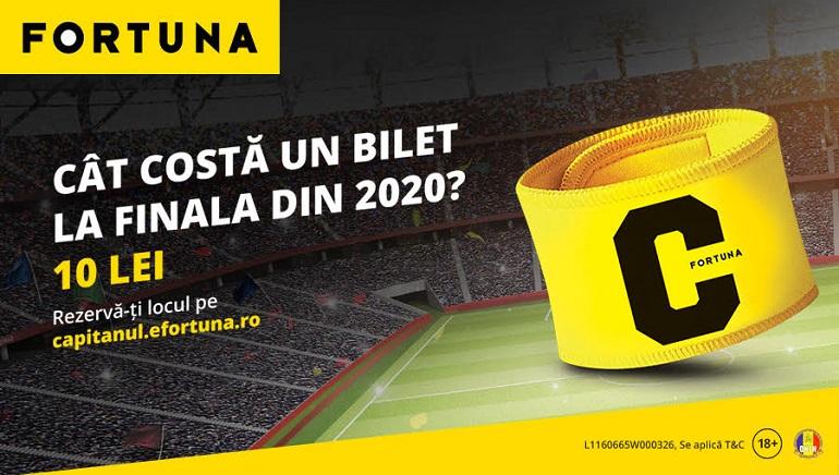 Campania Tu Ești Căpitanul Continuă la eFortuna România