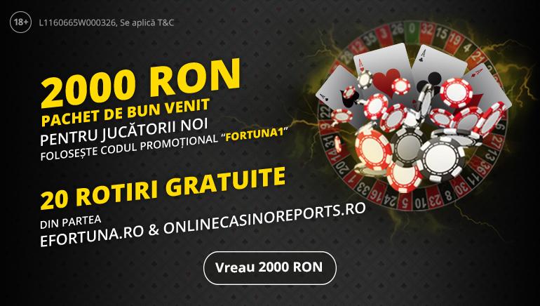 Primește Bonusul Exclusiv eFortuna cu Online Casino Reports