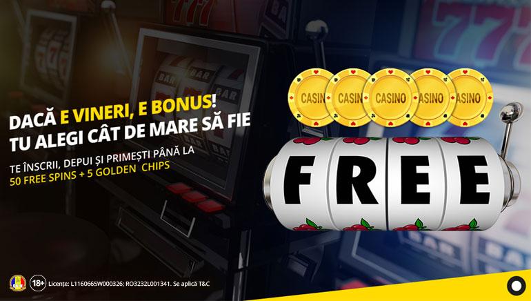 Câștiga până la 55 de Rotiri Gratuite la eFortuna Casino în Martie