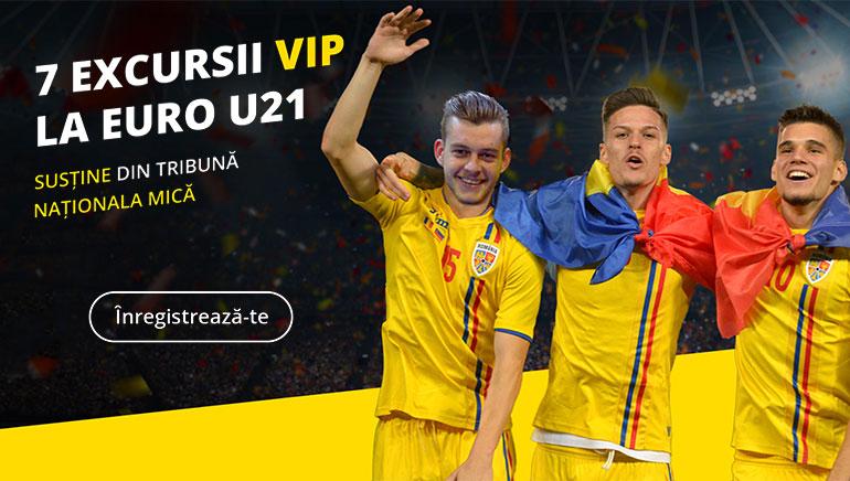 Câștiga o Excursie VIP la EURO U21 în Săptămana Campionilor la Efortuna