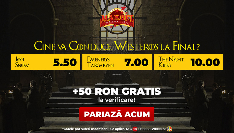 Game of Thrones Revine în Forță cu Promoția MaxBet