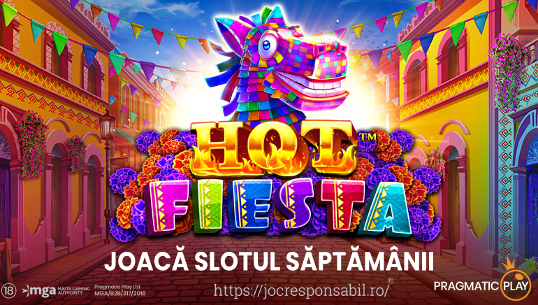 Floating Dragon Hold and Spin și Hot Fiesta vin la Cazinourile Pragmatic Play