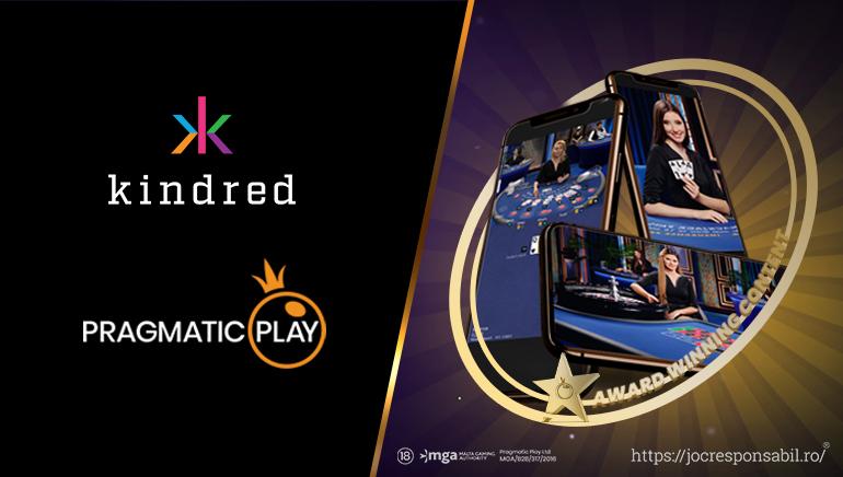 Pragmatic Play și Kindred Lansează un Live Casino Nou pentru Clienții Unibet