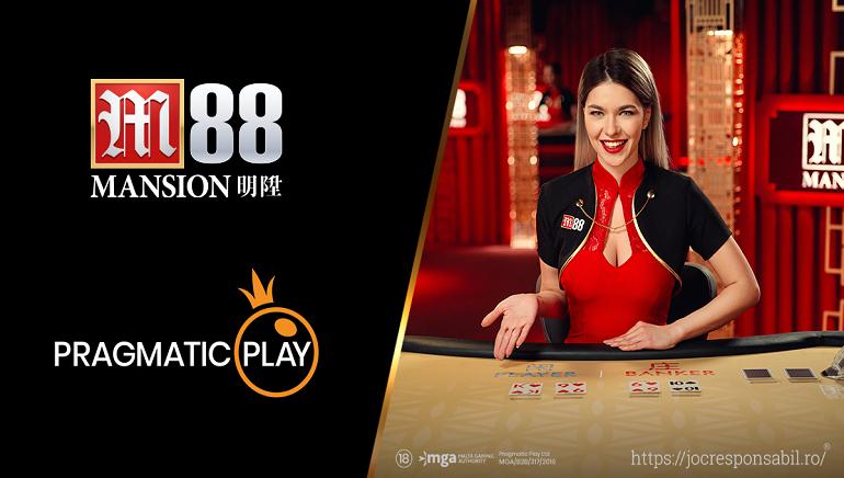 Decopera Noul Studio Live Casino de la Pragmatic Play la M88 Casino