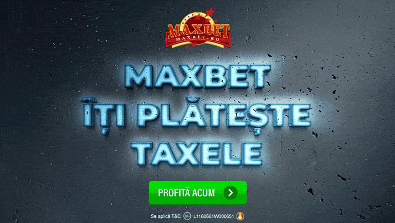 De Astăzi Maxbet va Plăti Taxele Tuturor Jucătorilor Săi
