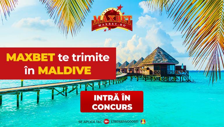 Maxbet te Trimite în Vacanță în Maldive
