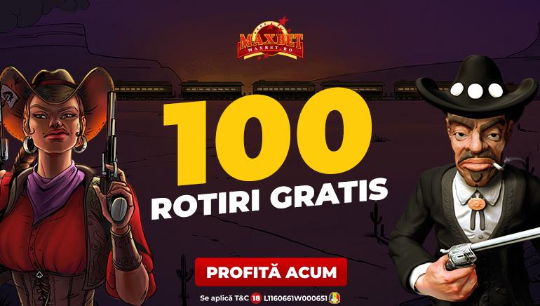 Maxbet iți Oferă 100 de Rotiri Gratuite la Sloturile NetEnt