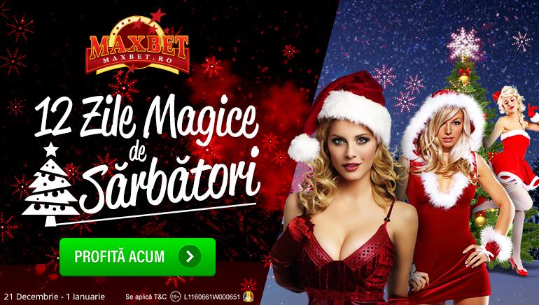 Maxbet Pregătește O Spectaculoasă Promoție de Crăciun Și Anul Nou