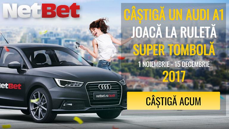 Câștigă un Audi la NetBet în Luna Noiembrie