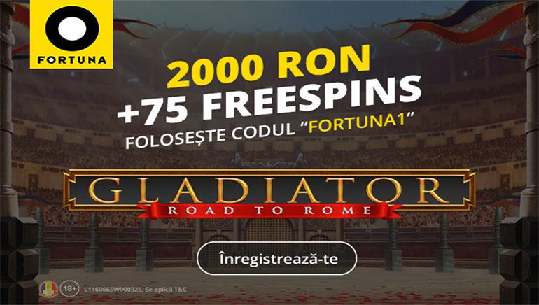 Fortuna și OCR Oferă un Bonus Exclusiv și Rotiri Gratuite Jucătorilor Noi