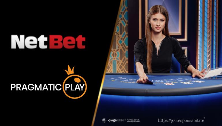 NetBet își Extinde Portofoliul cu Jocurile Pragmatic Play cu Dealeri Live