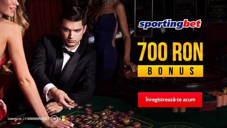 Sportingbet Casino Oferă Un Bonus De Până La 700 RON La Primul Depozit