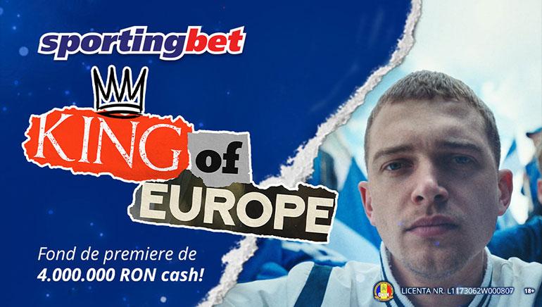 Sărbătorește Euro 2021 cu Promoția King of Europe la Sportingbet