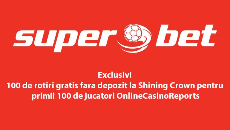 Superbet Casino și OCR te Întâmpină cu 10000 de Rotriri Gratuite