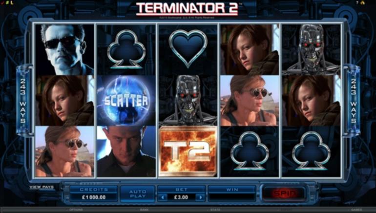 Lansarea unui Nou Joc: este Lansat Slotul Video Terminator 2