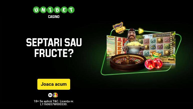 Unibet Cazino își Extinde Portofoliul cu cele mai Noi Sloturi EGT