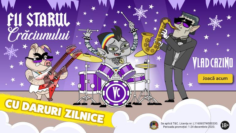 Sărbătorește Crăciunul mai Devreme cu Promoțiile Vlad Cazino