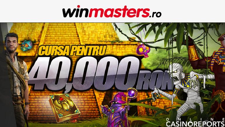 Intră în Cursa pentru 40.000 Ron la Winmasters